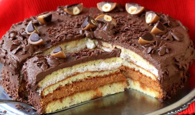 tofee torte karamell und schokolade cami 39 s magic world. Black Bedroom Furniture Sets. Home Design Ideas